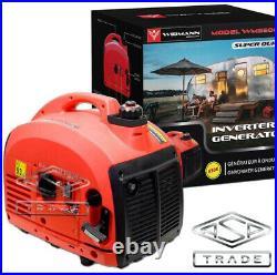 2000W Petrol Inverter Generator Portable Camping 2kVA Generator 230V