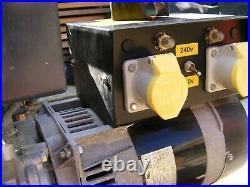 5KVA Honda GX270 petrol generator. Dual voltage 230v & 110 volt large fuel tank