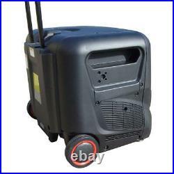 Blackline Power 5600R 4kw Inverter Petrol Generator Recoil Start Quiet 53db
