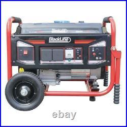Blackline Power 6600R Series 3.4kva 8HP Petrol Generator Recoil Starter