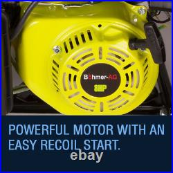 Böhmer-AG Electric Key Start Generator 3.8 KVA 3000w Portable Petrol 4 Stoke