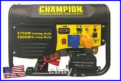 Champion CPG4000E1 3500 watt petrol generator