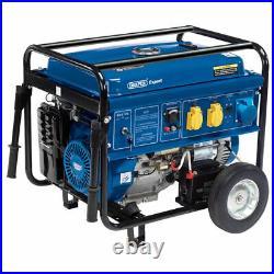 Draper Expert 6.5kva 15hp Electric Start Petrol Generator 16143 NEW