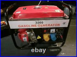 Gas Generator 3000 GX200 6.5Hp