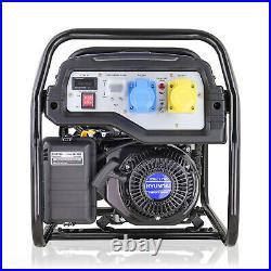 Generator Petrol Electric Start 3.2kW 3200W 4kVA Catering Portable Site HYUNDAI