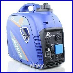 Generator Petrol Inverter Portable Suitcase Silent 2200W 2.2kw 2.8kVa HYUNDAI