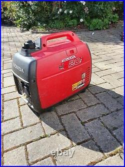 HONDA EU20i 2.0 kW Suitcase Inverter Generator (Petrol)