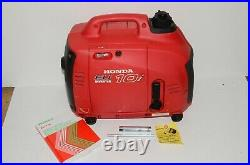 Honda EU10i portable petrol generator inverter HARDLY USED 1KW camping motorhome