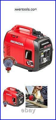 Honda EU22i LPG Propane Gas/Petrol 2200W Portable Silent Inverter Generator LPG