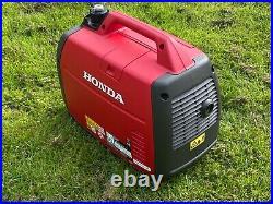 Honda EU22i generator the top of the domestic range