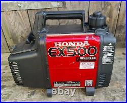 Honda EX500 suitcase generator, inverter 500 watt, ideal camping