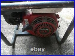 Honda GX160 2.4 KVA Petrol Generator 240v /110v Used Spares & Repairs