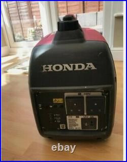 Honda Generator EU20i, Red, Only used three times, Portable, Quiet, User Manual