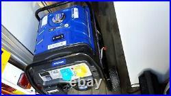 Hyundai HY3800L-2 Electric Start Site Petrol Generator Blue/Black