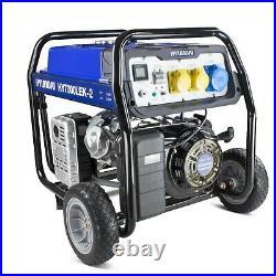 Hyundai HY7000LEK-2 5.5kW / 6.8kVa Recoil & Electric Start GRADED