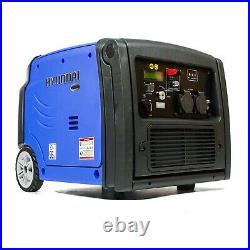 Hyundai Hy3200sei Digital Inverter Suitcase Generator. Camping, Caravan. Leisure