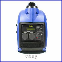 Hyundai NEW HY2000SI 2020 Generator Petrol Inverter Portable Quiet 2kw 2.4kVA