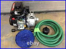 LONCIN LC25ZB21-1.2Q 1 25 mm Water Pump Petrol 4 Stroke 8000 L Hour + HOSE KIT