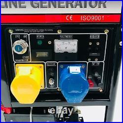 LT7500CLE 8Kva LAUNTOP 16Hp PETROL 32A GENERATOR 8 KVA 6.5 KW ELECTRIC START