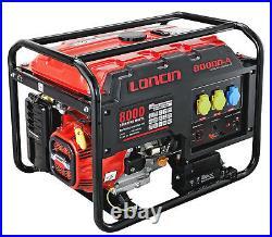 Loncin L8000D-AS 7.5kW Portable Petrol Generator