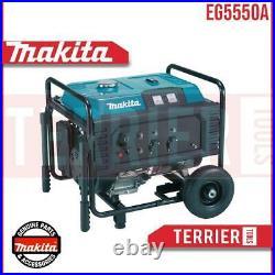 New Stock Makita EG5550A Petrol Generator 5.5KW 240v