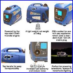 P1000i 1000W Portable Petrol Inverter Suitcase Generator 1KW GRADED