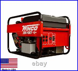 PORTABLE GENERATOR Tri Triple Fuel NG LP & Gasoline Fired 9 kW 120/240V