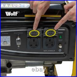 Petrol Generator 2500w 3.12kva 5.5HP Portable 4 Stroke Silent Inverter
