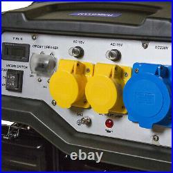 Petrol Generator Portable Electric Start 5.5kw 6.8kva 4-Stroke 13hp HYUNDAI