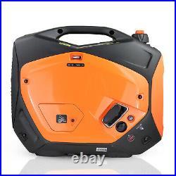 Petrol Generator Portable Silent 2.2 Kw 2.8 kVA 2000w Inverter Black & Decker