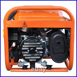 Petrol Generator RocwooD 2800w 110v 4 Stroke 8HP Electric Start Plus FREE Oil