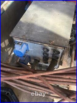 Portable Markon Welder generator. All working. Petrol Robin Ey40 Engine