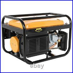Portable Petrol Generator 4-Stroke 4000w Electric Recoil Start Camping Power UK