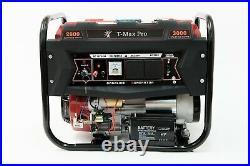Portable Petrol Generator 6000W-E 3.4 KVA 8HP Quiet Power Electric Key Start