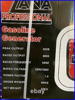 Portable Petrol generator 8500w