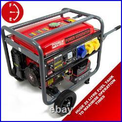 PowerKing Petrol Generator PKB8500E 6500w 15HP Wolf 4 Stroke Electric Start