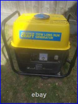Power Craft Model 720Watt 240 volt 2 Stroke Portable/Suit Case Petrol Generator