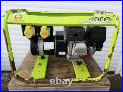 Pramac E4000, Honda Powered Petrol 3.4 kVA Generator, 110/230 Volt