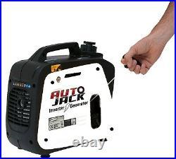 Quiet Portable Suitcase Inverter Petrol Generator 4 Stroke 4HP 1200W 12V 240V