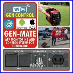 SE2000I 2.1Kw Suitcase Inverter Generator inc Wheels 2100w Neilsen & Kipor UK