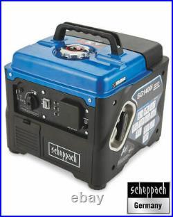 Scheppach 1200w Inverter Generator, Portable Camping 4 stroke Power (Germany)