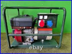 Vanguard Haverhill Generator 3KVA 3 phase 415v 8.5 HP
