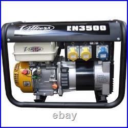Villiers 3.5 KW open frame petrol generator EN3500 British Built