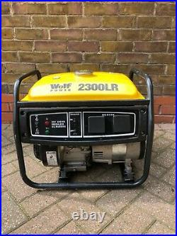 Wolf Power Wp2500lr Generator 4 Stroke 2500w Just Serviced