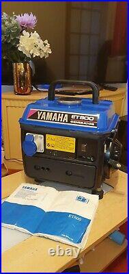 Yamaha Et800 Super Silent Camping Two Stroke Generator