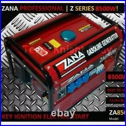 ZANA Professional Generator 8.5KVA Petrol Generator (ZA 8500 W) RRP Euro 1459