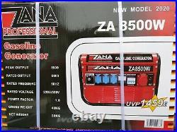 Zana Professional 8.5KVA Petrol Generator (ZA 8500 W) RRP Euro 1459